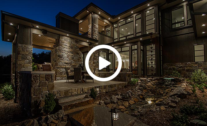 River Rock Builders Contemporary Home